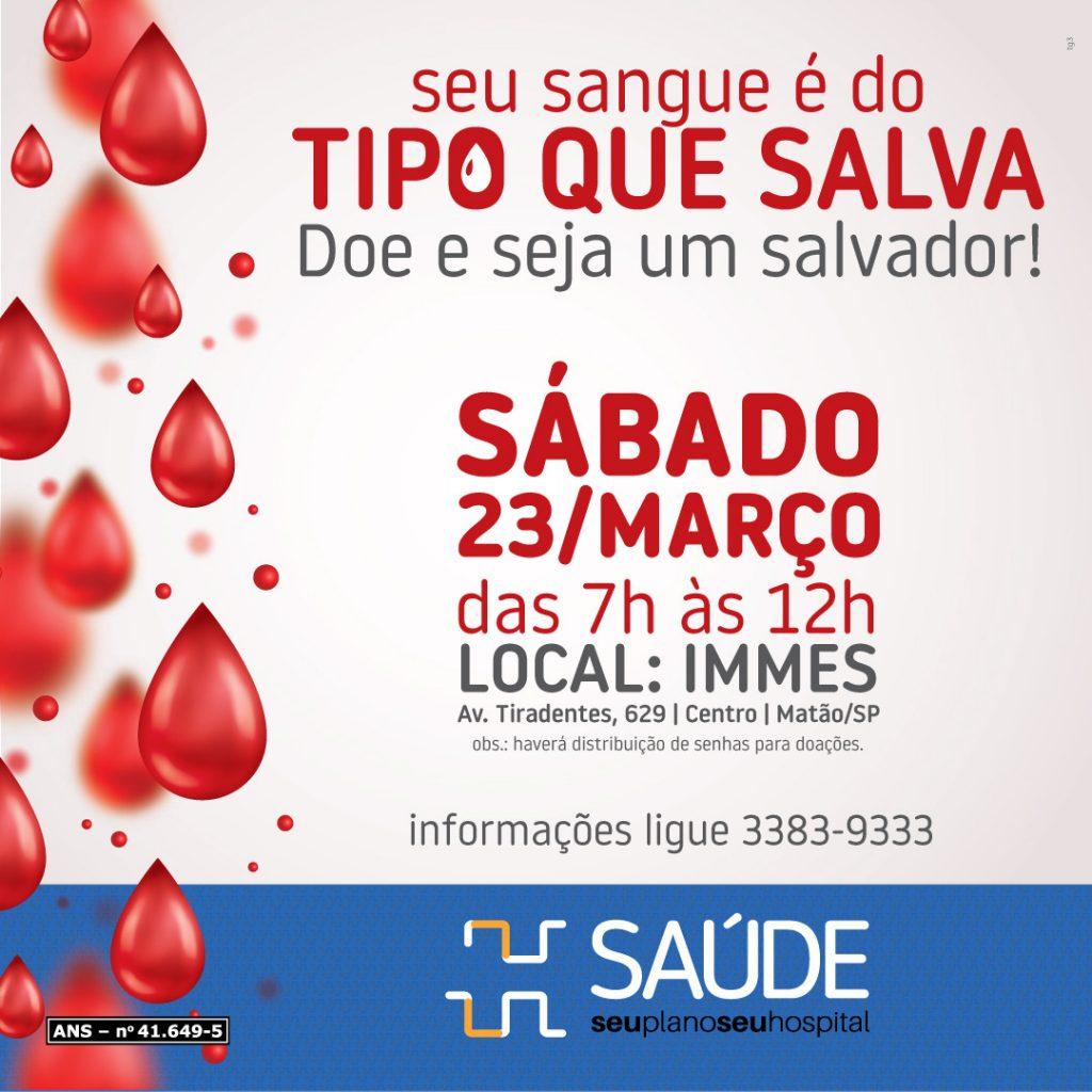 Condições para doação de sangue