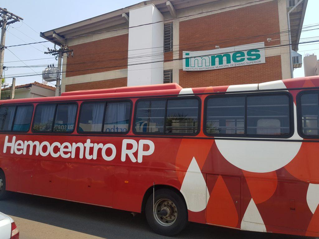 Êxito na coleta de sangue pelo Hemocentro de Ribeirão Preto